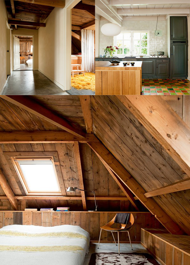 The First Home Is A Stunning Example Of Barn Turned Wood Dominating Material And Demonstrates Its Power Linking Traditional Rustic Feels