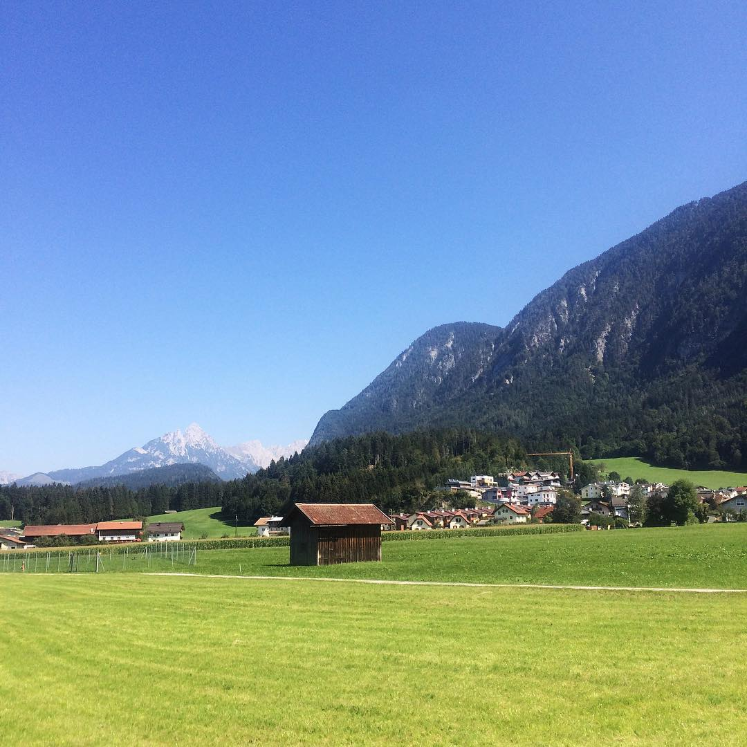 Spending the day in Heidiland aka Austria Bliss austria instatravelshellip