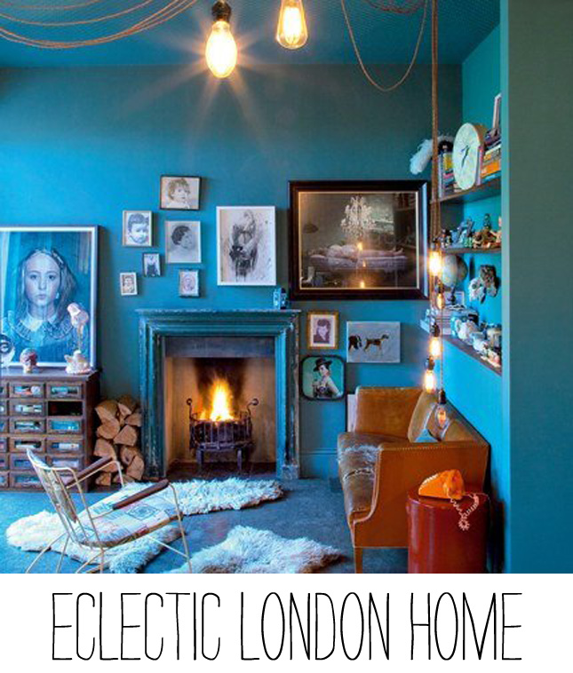 Home Tour Eclectic London Home Happy Interior Blog