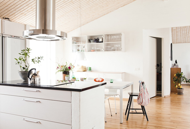 This Swedish Home Is Not Different In Its Approach To Interior Design.  White Walls, Wooden Floors And Ceilings, Design Furniture, Vintage Rugs And  Refined ...