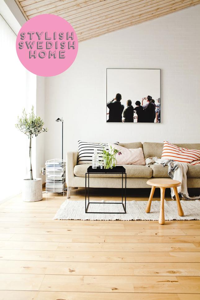 Home Tour: Swedish Interior Design & Home Tour: Swedish Interior Design · Happy Interior Blog