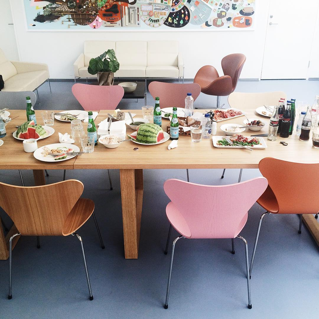Lunch is finished at fritzhansen  now lets tour thehellip