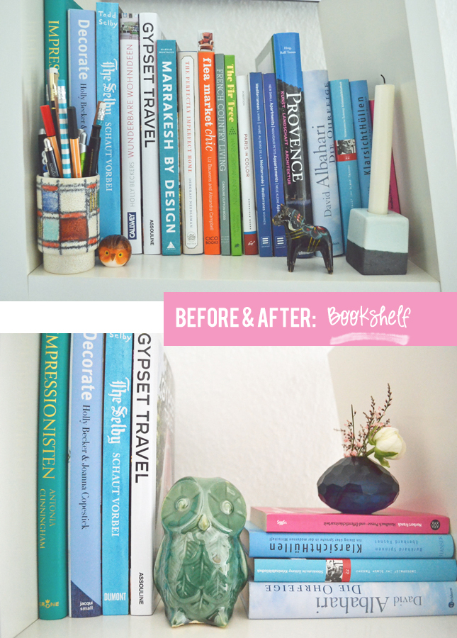 before after home styling part two - Home Styling Blog