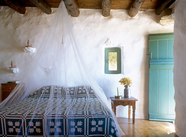 Happy guest an all natural house on mykonos happy for Island decor bedroom