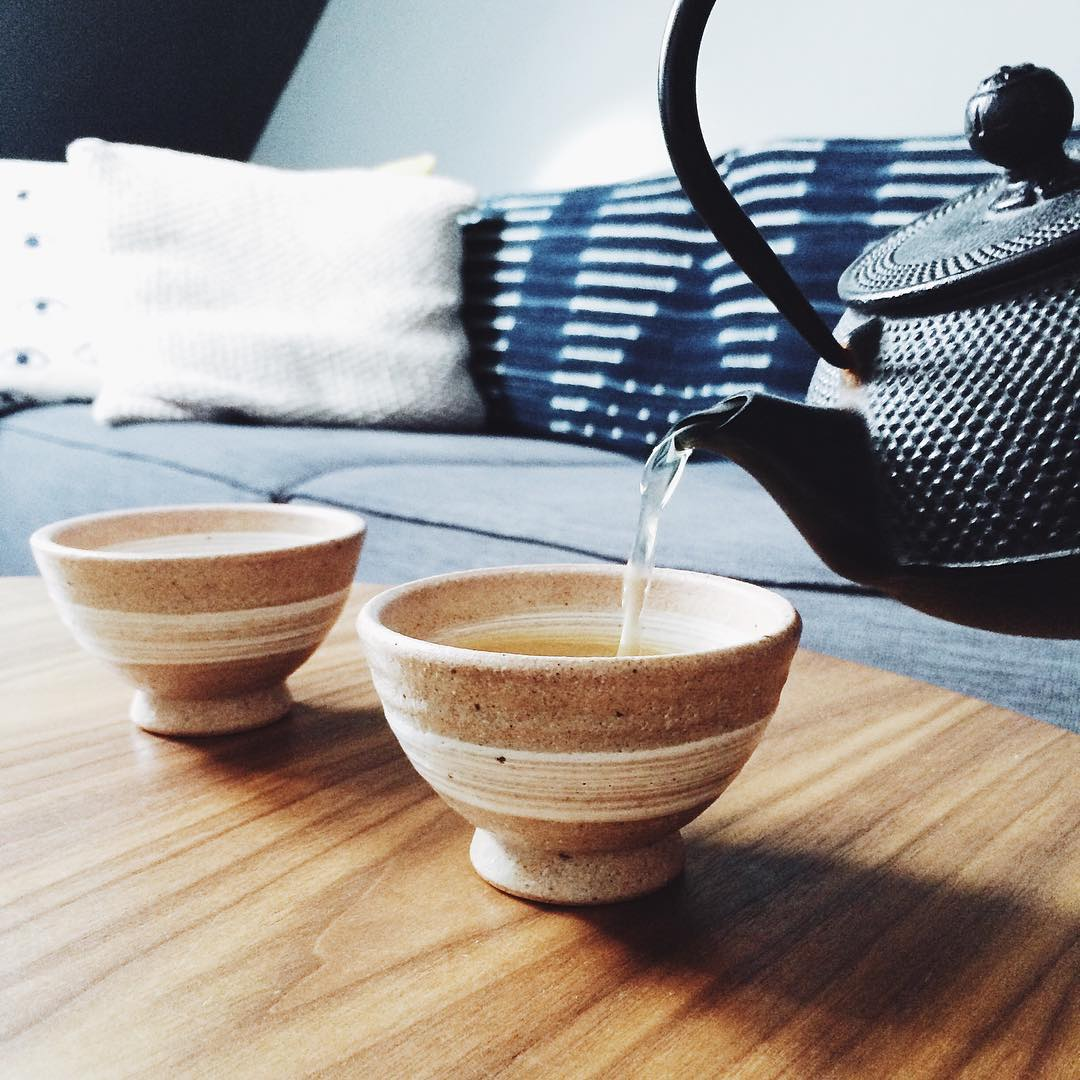 Zen at home New Japanese tea bowls and a delicatehellip