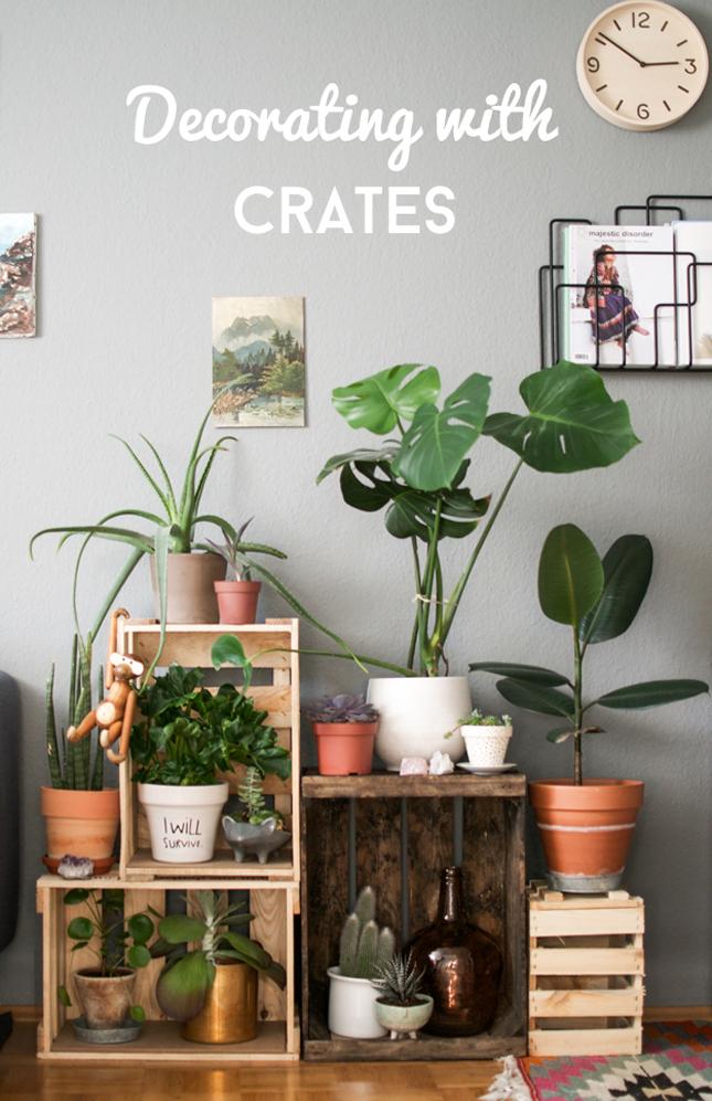 Decorating With Wine Crates 183 Happy Interior Blog