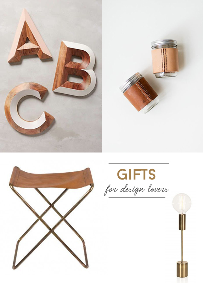 Gift ideas for design lovers happy interior blog for Interior design gifts