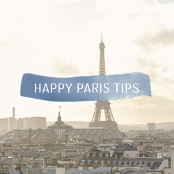Happy Paris tips