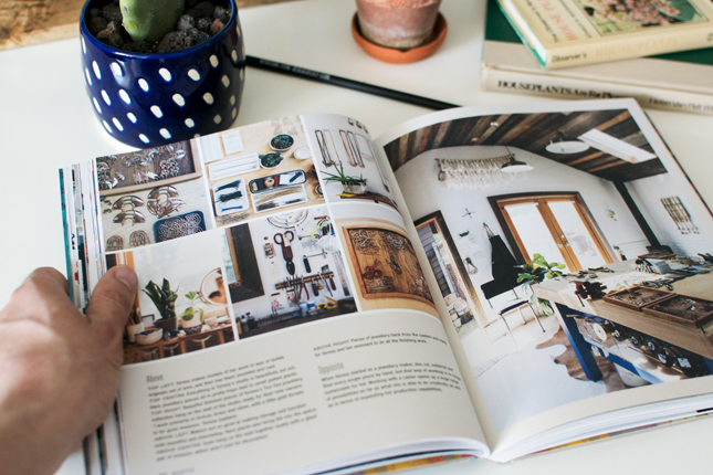 The Book Allows Us To Peek Into Homes Of Jewelry Designers Illustrators And Textile Artists Interior