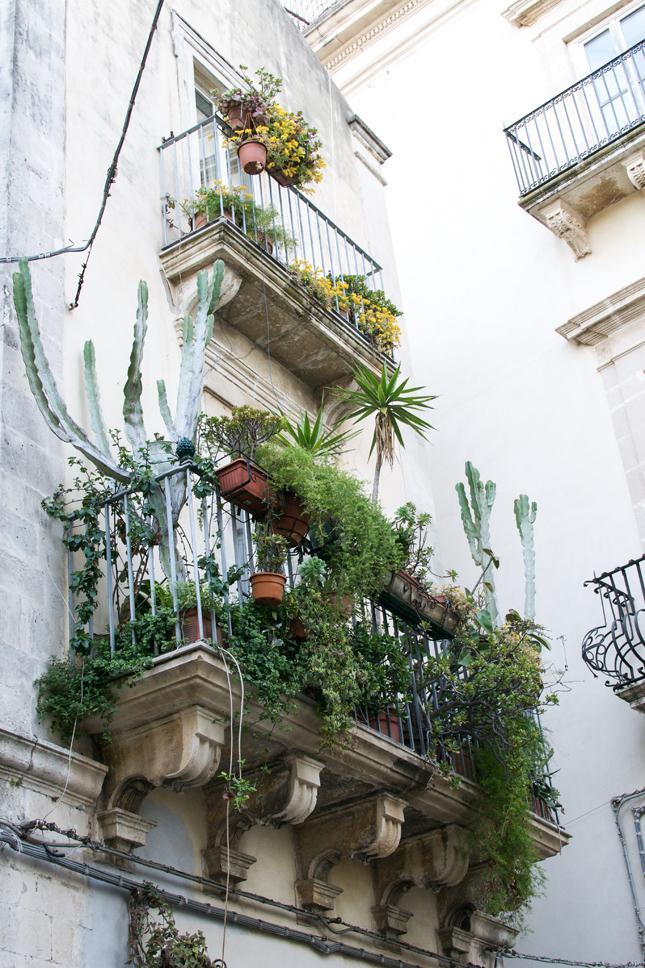 Apartment Balcony Flower Garden