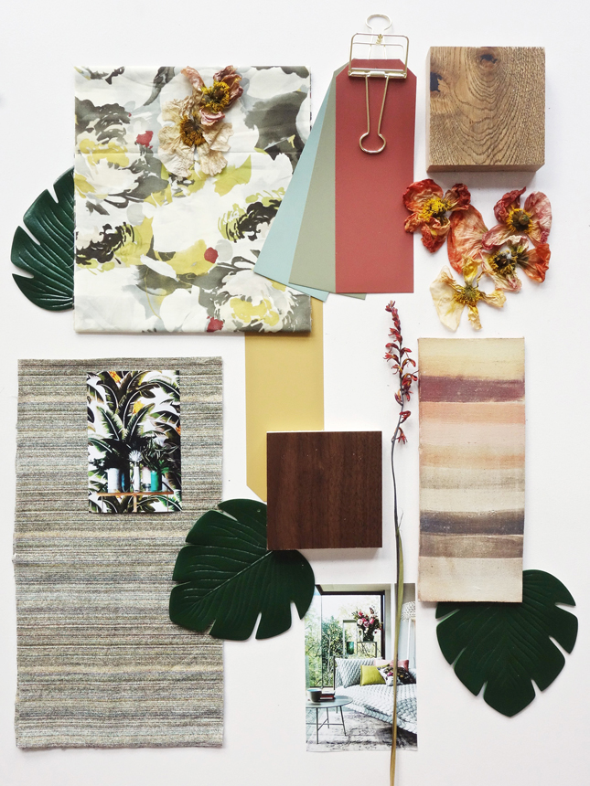 jungle trend moodboard