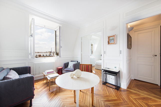 Paris Apartment Small Living Interiors