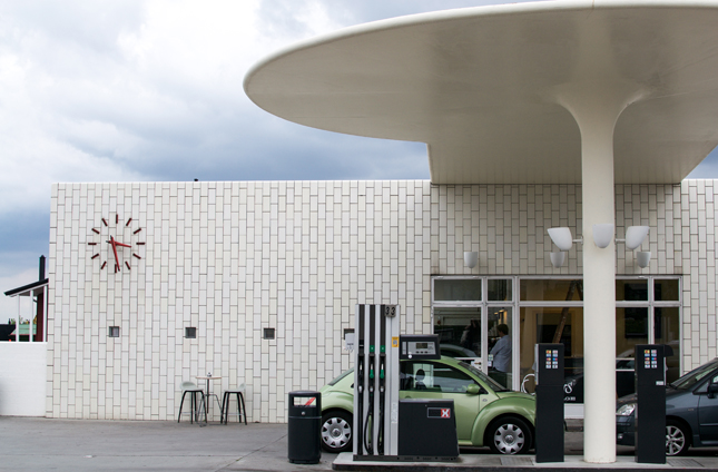 Fritz Hansen, Republic of Fritz Hansen, Danish design, design chairs, danish design tour, Arne Jacobsen petrol station