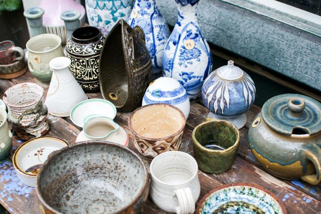 Finderi, vintage shopping, Copenhagen, vintage ceramics, vintage shopping tip, shopping tip Copenhagen