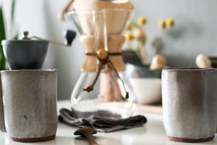 coffee, handmade ceramics, pourover coffee, Chemex