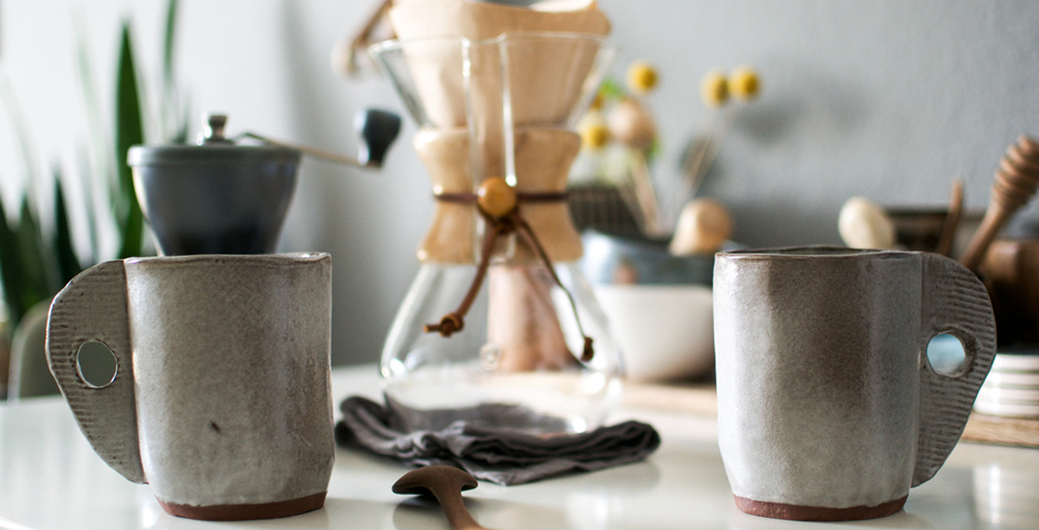 coffee, handmade ceramics, pourover coffee, Chemex