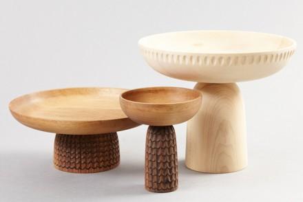 Near wooden bowls, wooden accessories, Zanat, Monica Förster, Balkan design