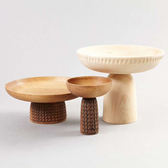 Near wooden bowls, wooden accessories, Zanat, Monica Förster, Balkan design