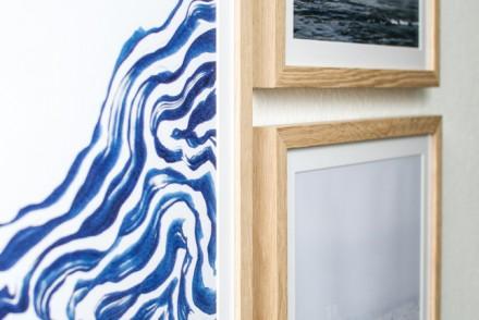 gallery wall, winter theme, Juniqe, art, art for the home, new artwork, art prints