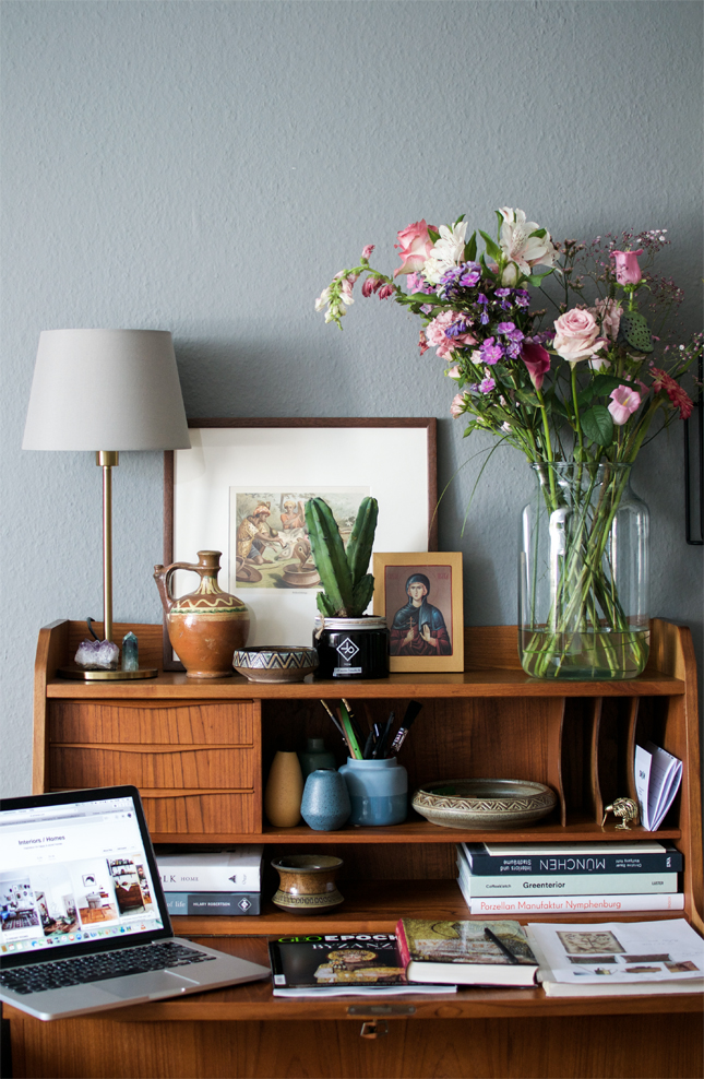 Bohemian Home Office Happy Interior Blog
