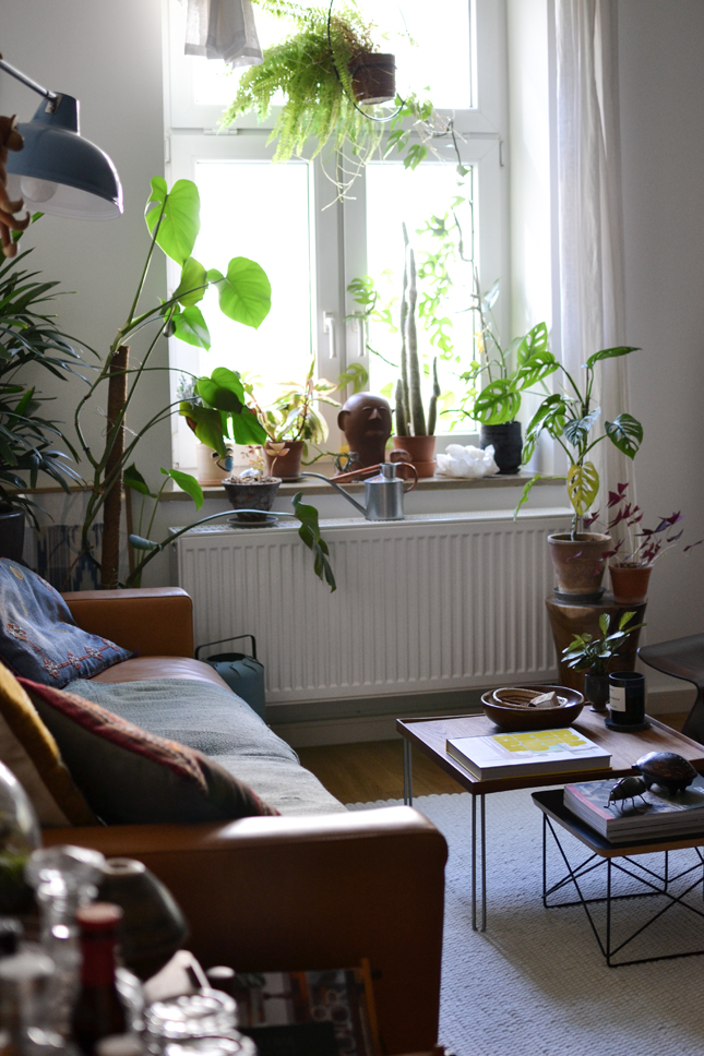 interior, interior styling, living room, interior design, living room restyling, Scandi, boho, plants
