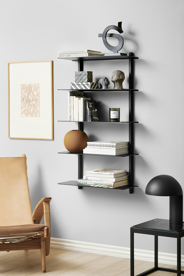 Danish design, Gejst, Nivo, Nivo shelf, design shelf, Scandinavian design, furniture design, interior design, interior styling