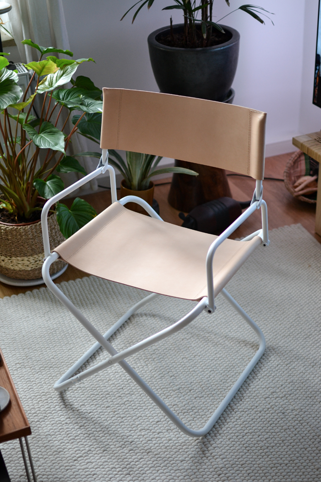 Lison Armchair, Lison collection, Lafuma Mobilier, interior, chair, French design, leather chair