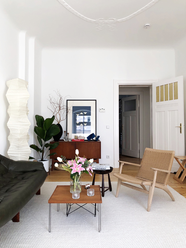 interior, Berlin apartment, interior styling, winter vibes, interior decoration, brazilian design, CH25 , Danish design