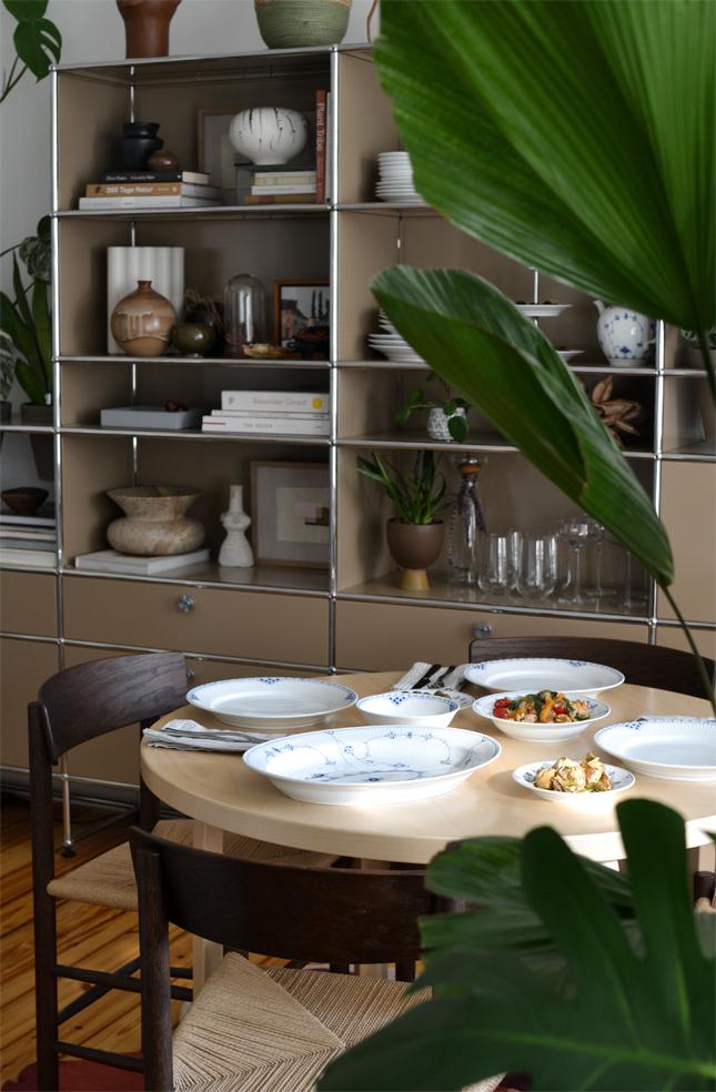 Botanical Brunch, Connox, Royal Copenhagen, brunch idea, plant styling, urban jungle bloggers